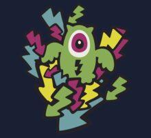 Neon Mutant Owls Kids Tee