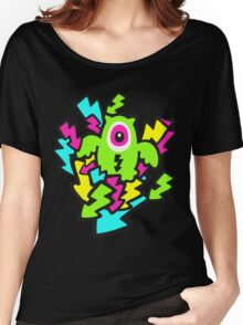 Neon Mutant Owls Women's Relaxed Fit T-Shirt