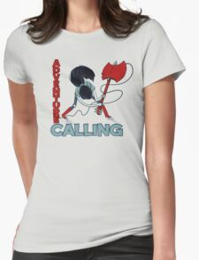 Adventure Calling Womens Fitted T-Shirt