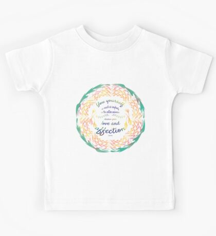 Buddha Quote Kids Tee
