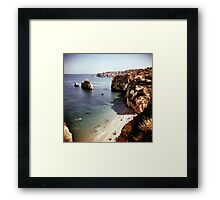Lagos beach Framed Print