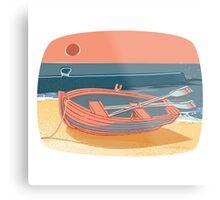 50s Quay - colour Metal Print