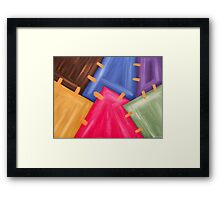 ABSTRACT 471 Framed Print