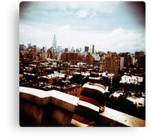 view over New York Canvas Print