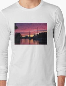 Of Yachts and Skylines Long Sleeve T-Shirt