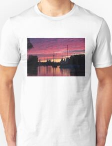 Of Yachts and Skylines Unisex T-Shirt