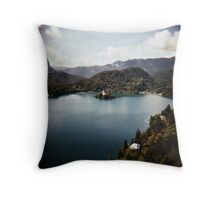 Bled, slovenia Throw Pillow