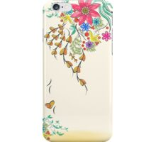 Vibrant Floral to Floral iPhone Case/Skin