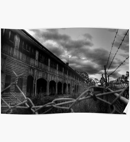 Wolston Park Mental Asylum, Brisbane Poster