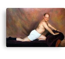 George Costanza in 'The Timeless Art of Seduction' Canvas Print