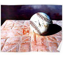 Baseball on Base 2 Poster