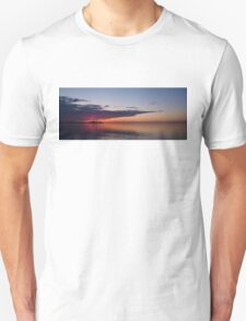 Panorama - Toronto Sunrise in June Unisex T-Shirt