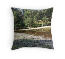 Ford at Green Point, Sofala Throw Pillow