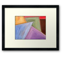 ABSTRACT 477 Framed Print