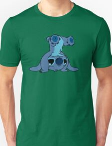 Cute Stitch upside down T-Shirt