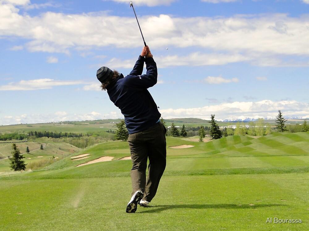 Golf Swing E by Al Bourassa