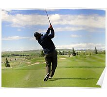 Golf Swing E Poster