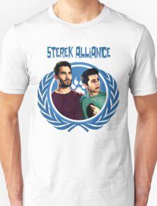 The Ultimate Sterek Alliance Blue T-Shirt Unisex T-Shirt