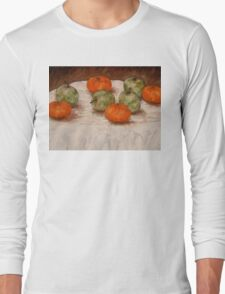 APPLES AND ORANGES Long Sleeve T-Shirt