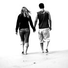 Romantic walk on the beach by Cleber Photography Design