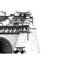 Paris by White Photographic Print