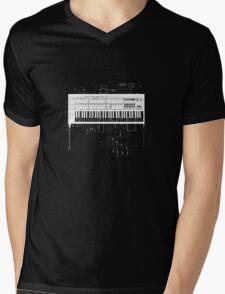 waldorf ppg wave Mens V-Neck T-Shirt