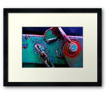 Time is the Artist, (with a little help!!) Framed Print