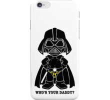 Who's Your Daddy - Yellow iPhone Case/Skin