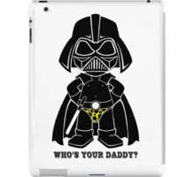 Who's Your Daddy - Yellow iPad Case/Skin