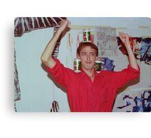 John Hughes at Art Unit 1983 Canvas Print