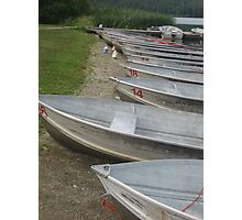 rows, rows, rows of boats Photographic Print