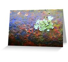 Green Patch Greeting Card