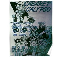 Cabaret Calypso poster at Art Unit Poster