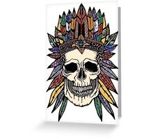 chief no-body Greeting Card