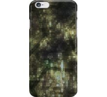 Polygons and Electric Fields iPhone Case/Skin