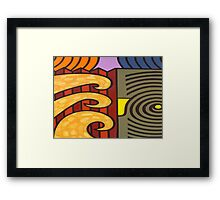 THE CYCLE OF NATURE Framed Print