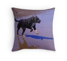 Puppy playmates Throw Pillow