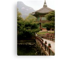 Korean bird Canvas Print