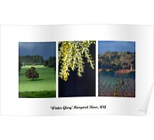 Winter Glory - Margaret River Poster