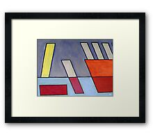 ABSTRACT 512 Framed Print