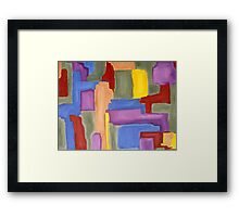 ABSTRACT 485 Framed Print