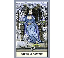 Queen of Swords, Card Photographic Print