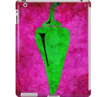 PEPPER! GREEN! SPICY! BURNY! iPad Case/Skin