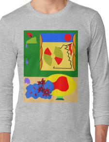 WINDY DAY AT THE BEACH Long Sleeve T-Shirt