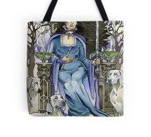 Queen of Swords Tote Bag