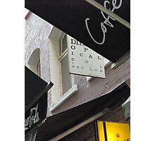 Alley signs Photographic Print