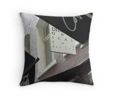 Alley signs Throw Pillow