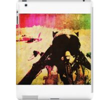 JET! PILOT! FIGHTER! PLANE! iPad Case/Skin
