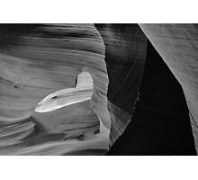 Open Heart Slot Canyon Photographic Print
