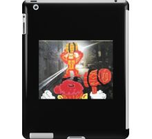 Back Alley Brawl iPad Case/Skin